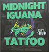 Midnight Iguana Tattoo